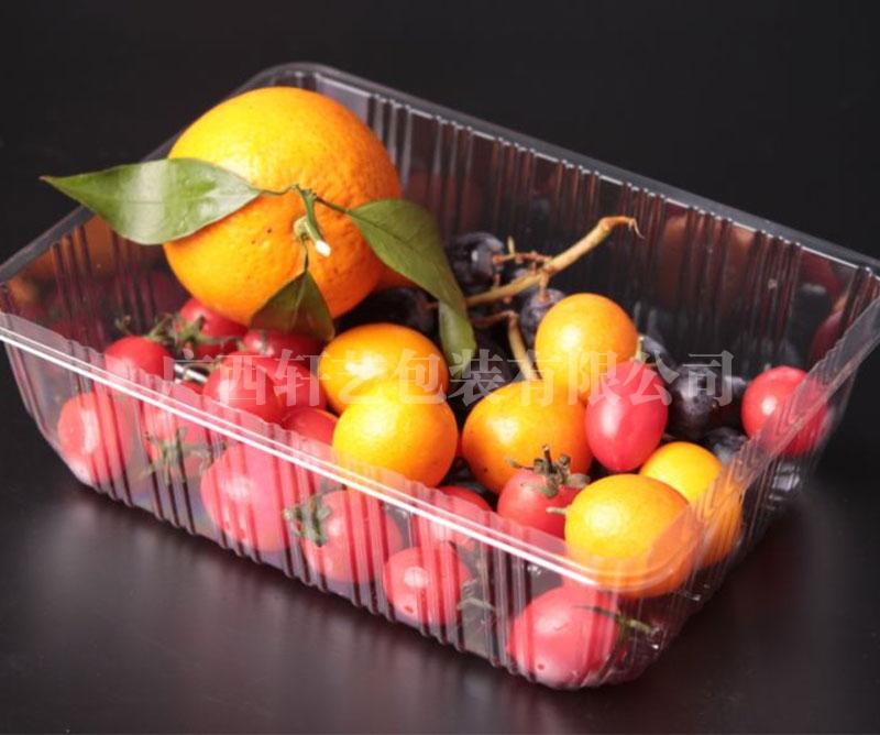 农业水果双面吸塑托盘